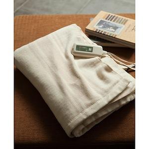 Zenken電気掛敷オーガニックコットン毛布