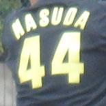 背番号は44番