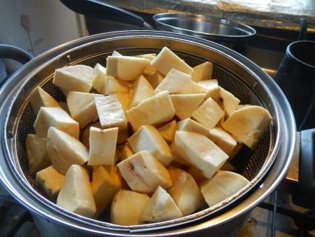 干し芋作り (2)