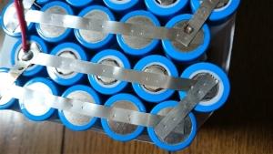 バッテリー溶接