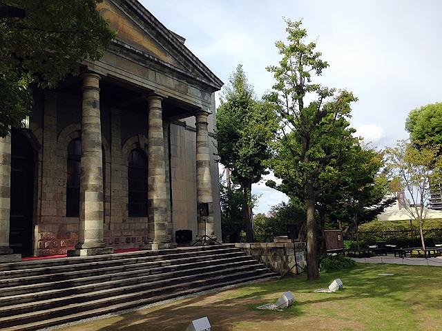 旧桜ノ宮公会堂で素敵な結婚式でした♪シルバーウィーク初日のことです^^