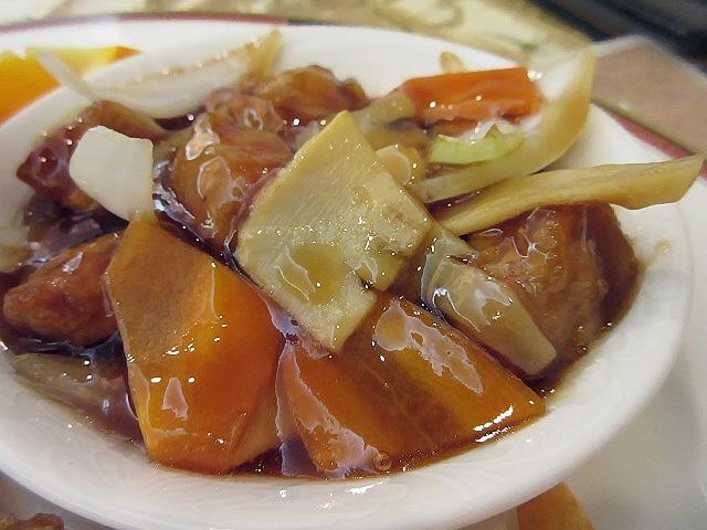 神戸飯店の三国志定食&鉄人定食。なかなか良かったです!(^^)!