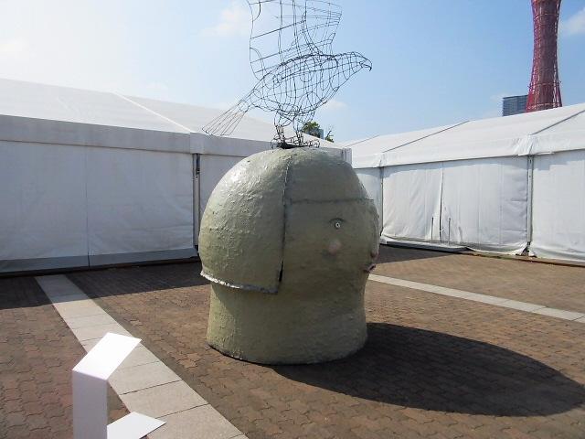 港で出会う芸術祭。。神戸ビエンナーレ@メリケンパークに行きました♪