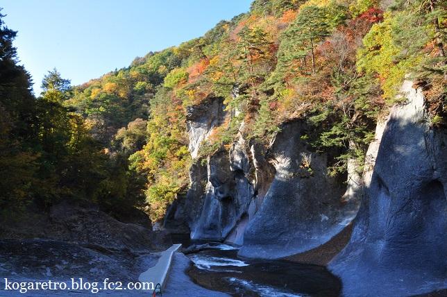 2015吹割の滝の紅葉2