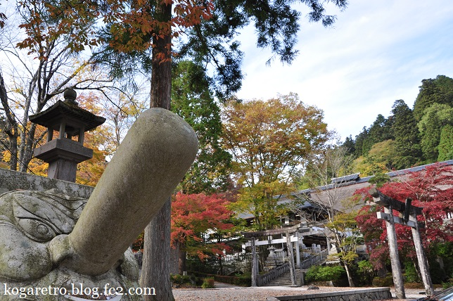 古峯神社と古峯園
