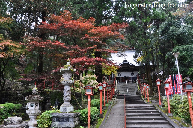 出流山満願寺の紅葉3