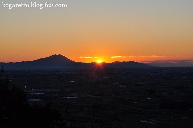 2015太平山の朝日と紅葉