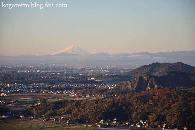 2015太平山の朝日と紅葉2