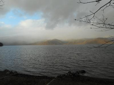 22日の屈斜路湖