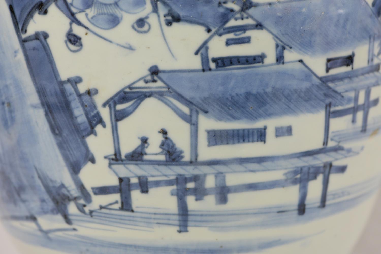 伊万里梅山荘図大壺11