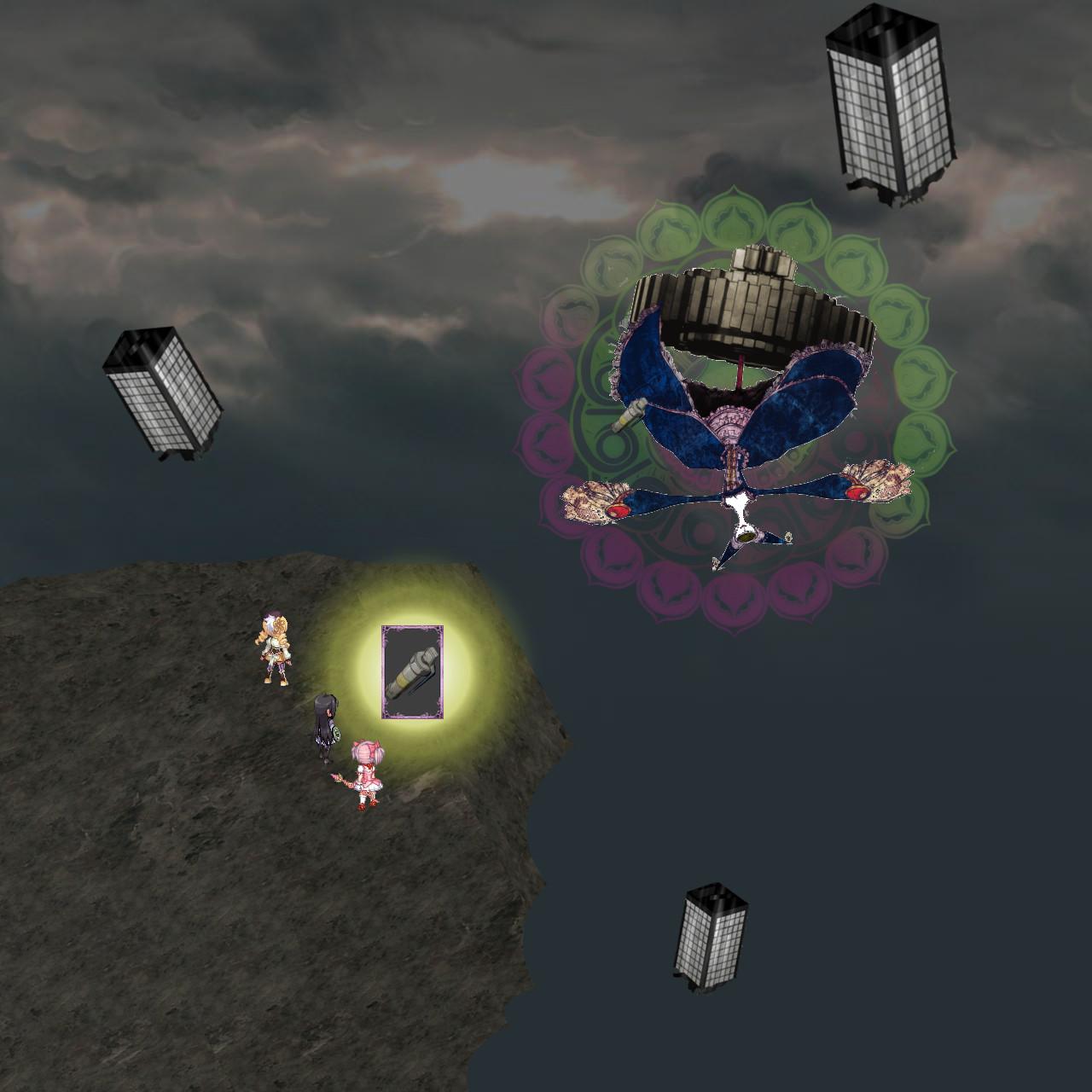ワルプルギスの夜背天空の戦い11