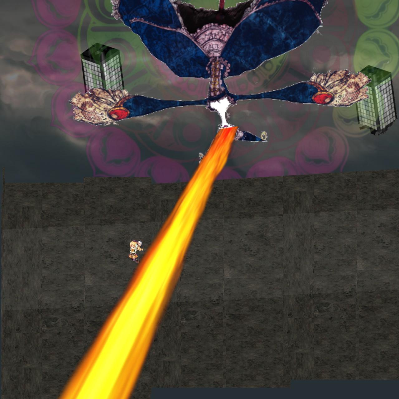 ワルプルギスの夜背天空の戦い55
