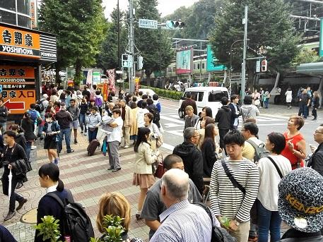 9 JR原宿駅 東