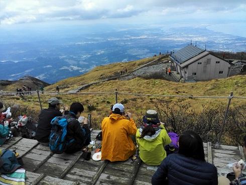 1 大山頂上・昼食・休憩
