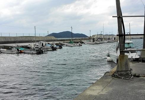 9 日野正平・自転車紀行・小串漁港・同じ場所