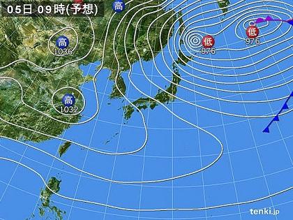 20151203c天気図