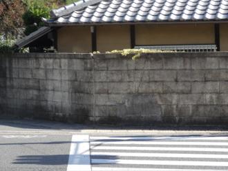 けいおん!聖地巡礼 松ヶ崎橋 修学院駅西側(北山通)