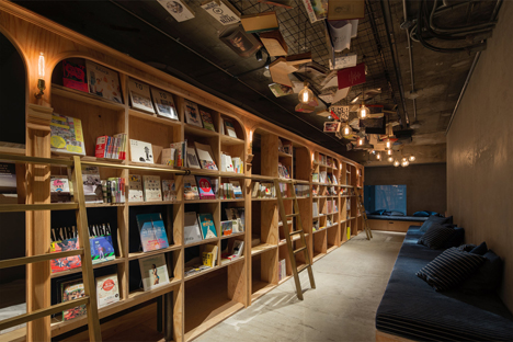池袋に「泊まれる本屋」BOOK AND BED TOKYOが誕生!3
