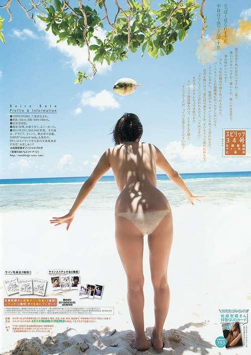 佐藤聖羅セミヌードおっぱい画像b08
