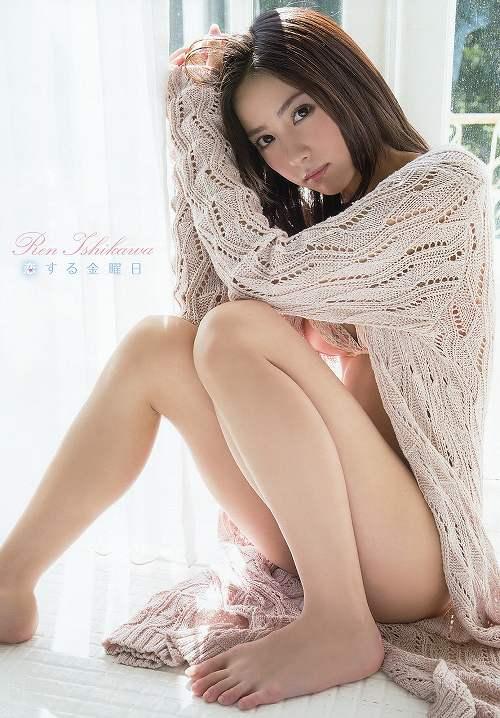 石川恋グラビア画像b33