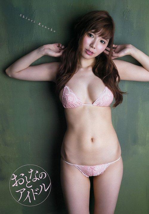 金子栞巨乳おっぱい画像c29