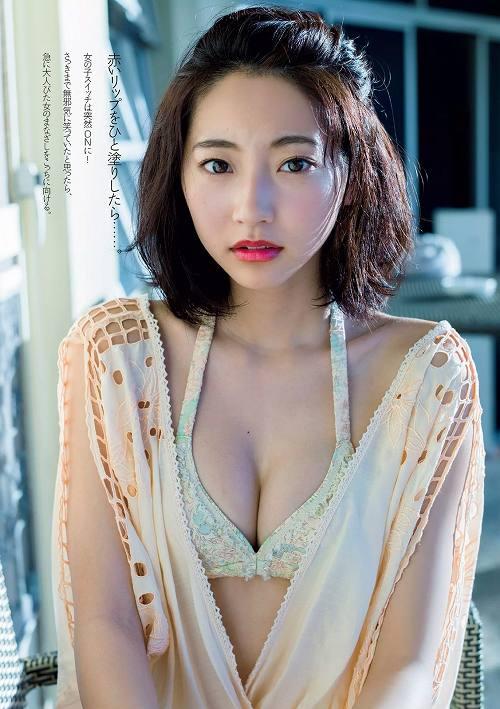 武田玲奈 細すぎる細身体☆清純系モデルのミズ着お乳写真