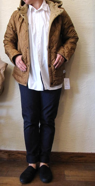 armen ナイロンフードジャケット