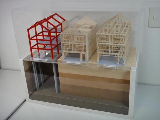 構造模型完成