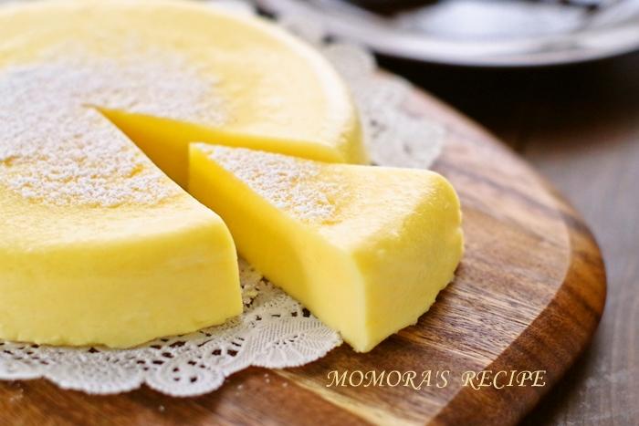 HMレンジチーズケーキ (2)