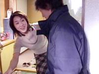 【無修正】【中出し】マンコもアナルも玩具責め3P 森優子