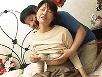 ダイスキ!人妻熟女動画 :【無修正】最後にいつヤったか忘れちゃう程のご無沙汰五十路妻をハメる! 里中亜矢子