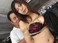 【無修正】淫乱巨乳教師 朝丘まりん3