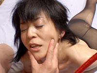 【無修正】【中出し】NO.3 五十路熟女調教 岡ゆりこ