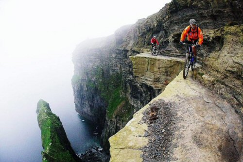 500 21 This bike trail along the Cliffs of Moher