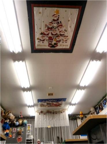 03 500 20151113 DecoLLTapestries on Ceiling