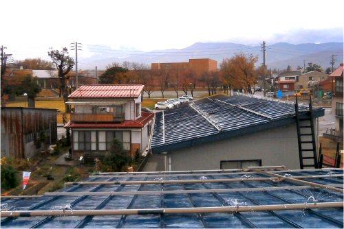 02 500 20151115 Roofs sprinkled after 江浚い