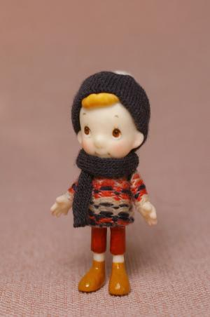 クークー男の子セーター