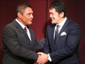 高田とヒクソンの握手1