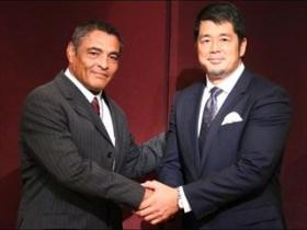 高田とヒクソンの握手2
