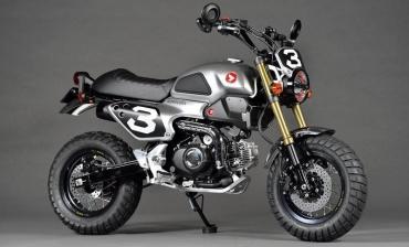 ホンダ グロム50 コンセプト 東京モーターショー2015 tokyo motorshow 2015 Custom Honda Grom50 Scrambler Concept One Two Motorcycle
