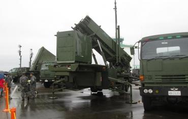 "PAC‐3""Patriot Advanced Capability""MIM-104 パトリオット(MIM-104 Patriot)発射機(Launching Station, LS)M901 AN/MPQ-53フェーズドアレイレーダー 弾道ミサイル防衛(BMD)地対空誘導弾ペトリオット高射教導隊"