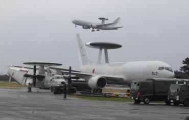 ボーイングE-767早期警戒管制機ノースロップ・グラマンE-2Cホークアイ(AWACS)J-WACS第601飛行隊(三沢基地)、第603飛行隊(那覇基地)AEWC浜松基地JASDF航空自衛隊エア・フェスタ浜松2015