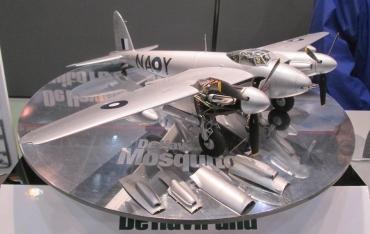 タミヤフェア2015 Tamiya‐Fairツインメッセ静岡 1/48デ・ハビランド モスキートde Havilland DH.98 Mosquito戦闘爆撃機型 Australian