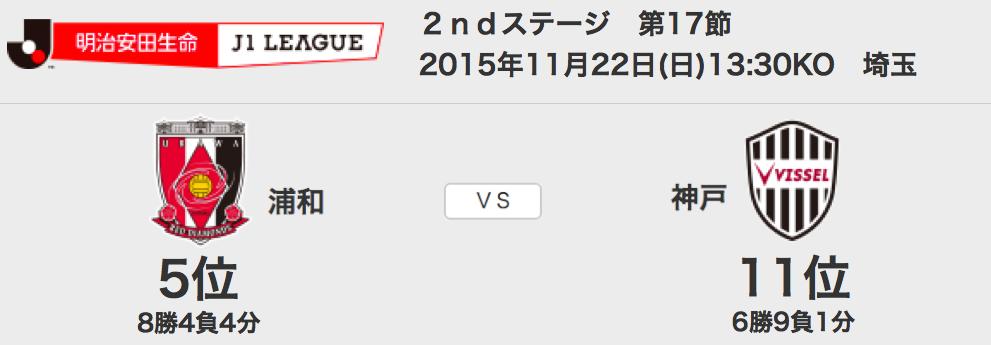 1122浦和神戸