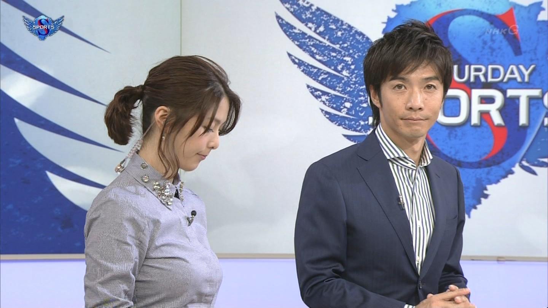 杉浦友紀アナの乳がすごいことになってきた・・