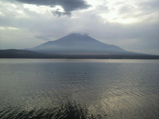 富士山(笠雲山中湖)