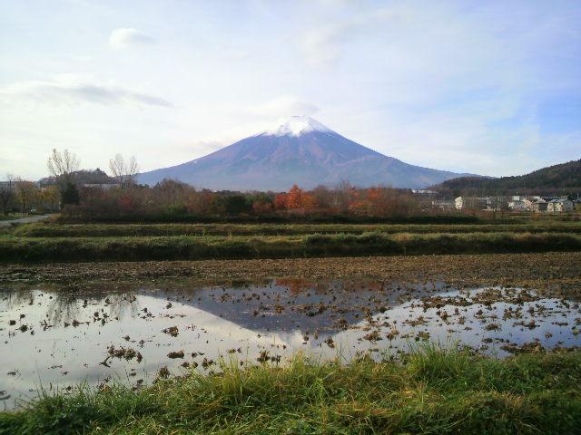 富士山(城山農村公園)