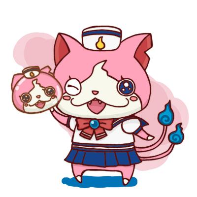 セーラーニャン 妖怪ぷにぷに イラスト