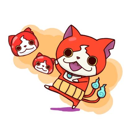妖怪ウォッチ ぷにぷに ジバニャン イラスト