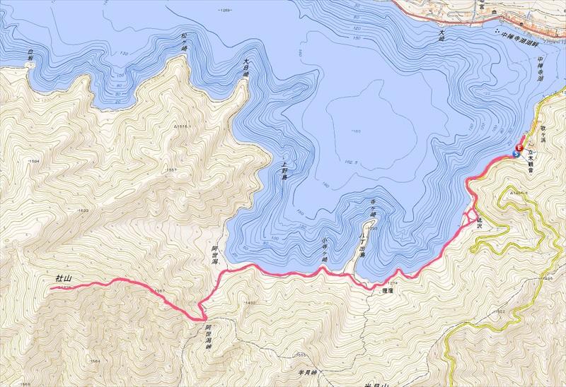 奥日光、社山への登山詳細ルート